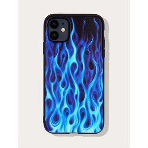 Blue Flames iPhone 12 Pro Max Case 🔥